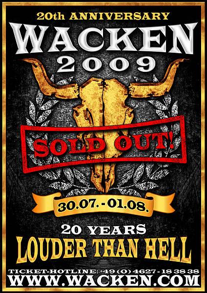 Wacken - Sold out