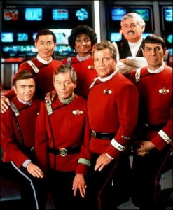 Als Captain James T. Kirk wurde Bill weltberühmt