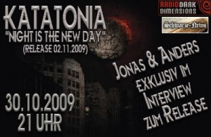 Katatonia Special auf radio Dark Dimension