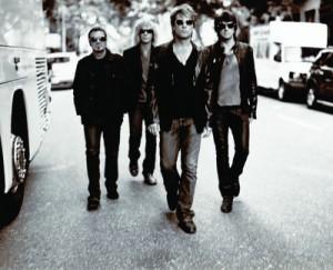 Tico Torres, David Bryan, Jon Bon Jovi, Richie Sambora (v.l.n.r.)