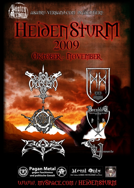 Heidensturm Poster