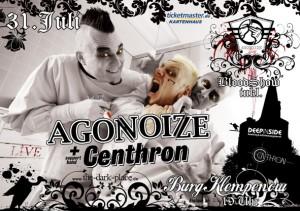 The Dark Place Präsentiert: Agonoize & Centhron
