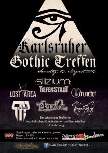 Karlsruher Gothic Treffen Flyer