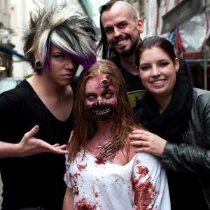 Pressefoto Zombiewalk 2013