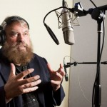 Brian Blessed recording 'The Warrior's Prayer'_MANOWAR_Kings Of Metal MMXIV