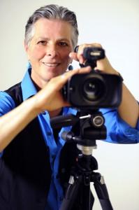 Kamerafrau Bea Huwiler