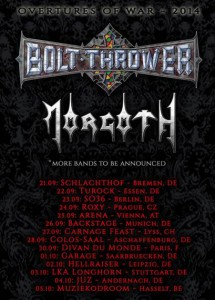 morgoht und bolt thrower tour