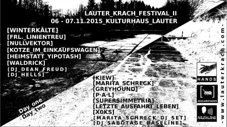 Lauter Krach 2015