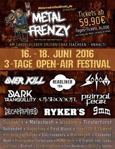 Metal Frenzy 2016