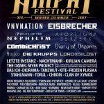 Amphi Festival 2017 Flyer