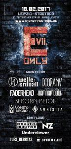 Flyer VII. E-Only Festival 2017