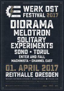 Flyer E-Werk Ost Festival 2017