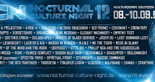 NCN12 - Nocturnal Culture Night 2017