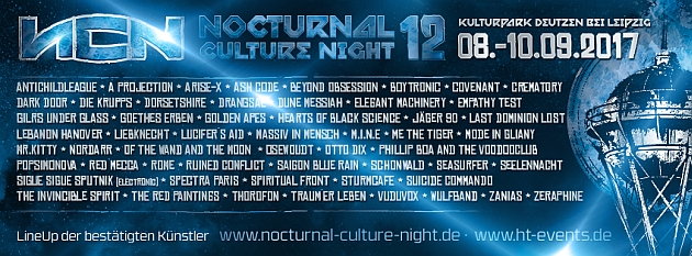 NCN12 - Nocturnal Culture Night 2017