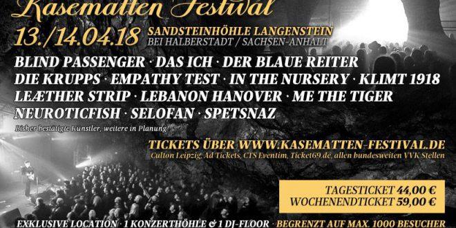 Kasematten Festival 2018