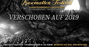 Kasematten Festival 2018 verschoben